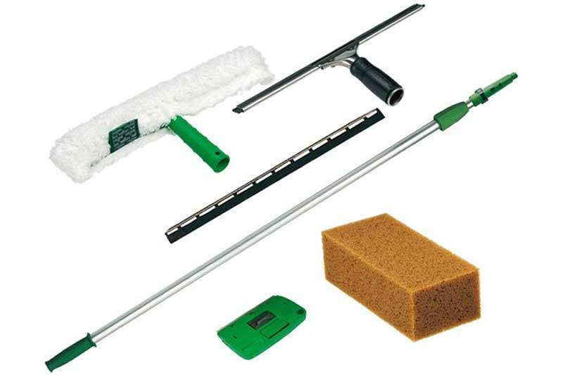 unger pwk00 glasreinigungs set einsteigerkit mit den wichtigsten utensilien siax. Black Bedroom Furniture Sets. Home Design Ideas