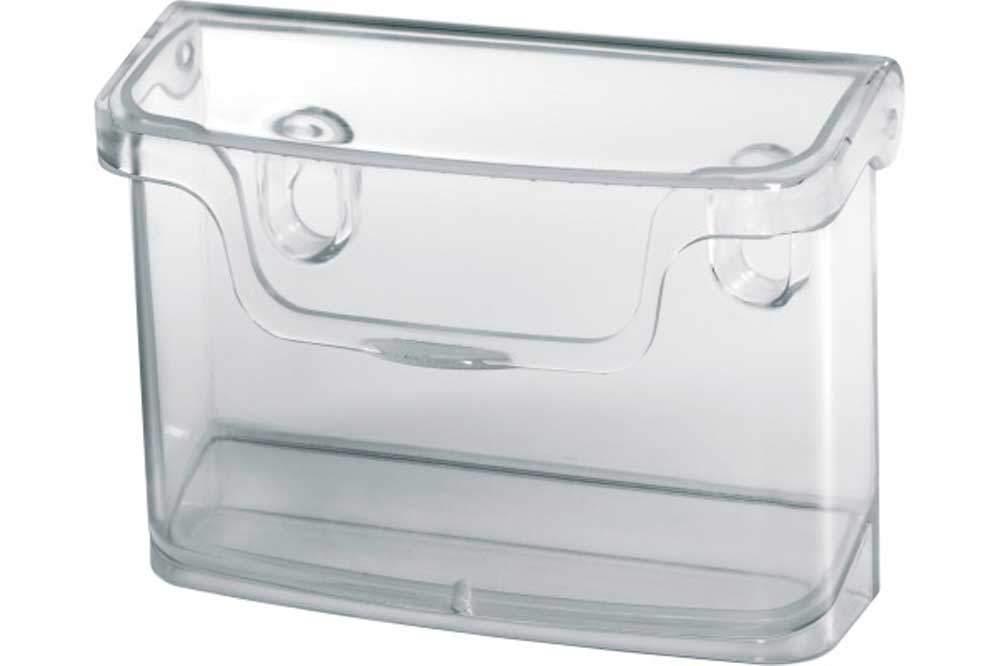 Sigel Lh326 Outdoor Visitenkartenhalter Für Wand Und Glas Acryl